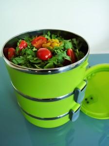 lunchbox mit 3 Schalen