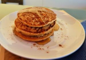 vegane luftig lockere Pfannkuchen
