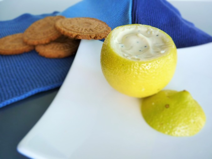gefüllte Zitrone