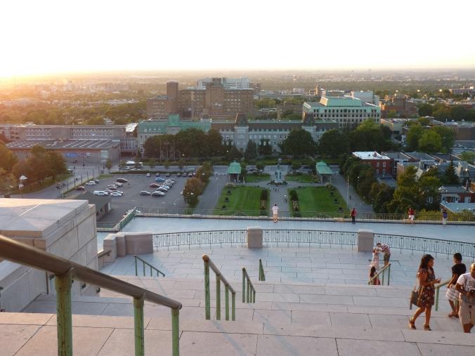 schöne Aussicht auf den westlichen Teil von Montreal
