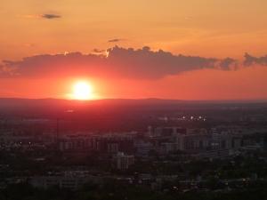 Sonnenuntergang im September St Josheph