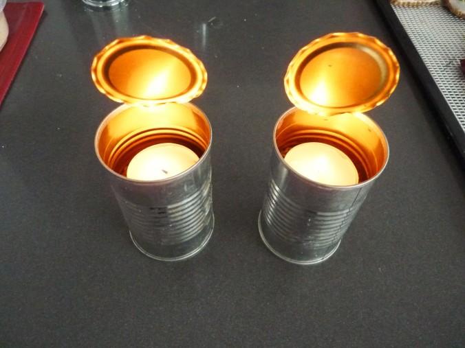 upcycling von Tomatenmarkdosen